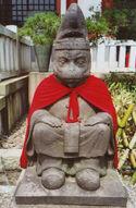 Tokyo monkey statue