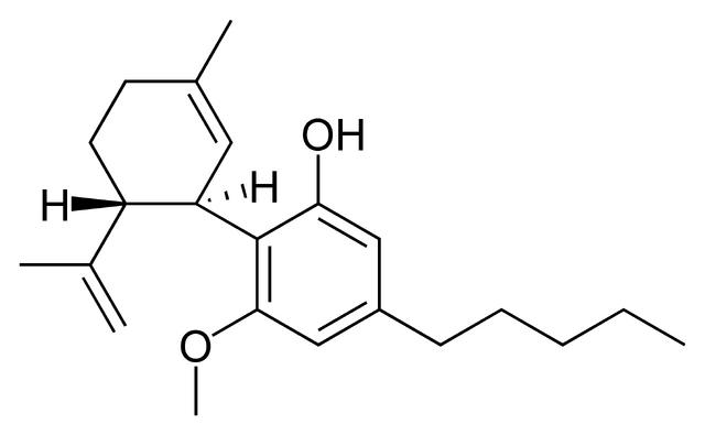 File:Cannabidiol momomethyl ether.png