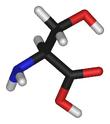 L-serine-3D-sticks