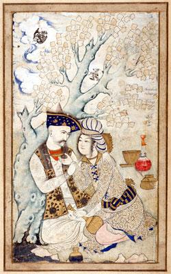 File:Shah Abbas and Wine Boy.jpg