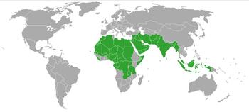 Polygamy world map