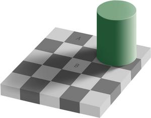 Same color illusion