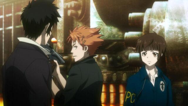 File:Kagari, shinya and akane in the Nona Tower.jpg