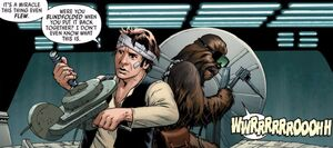 Han and Chewir repair the Falcon.jpg