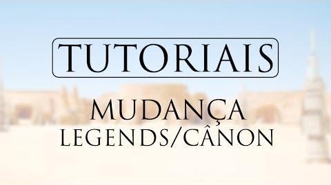 TUTORIAL Mudança de padrão Legends Cânon