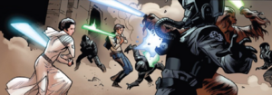 Lightsaber battle in the arena.png