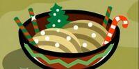 Santa Candy Noodles