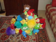 Puffle fort