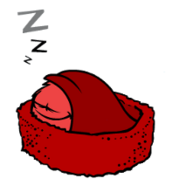 Red Puffle sleeping 2 (Wikia)