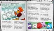 White-puffle-newspaper