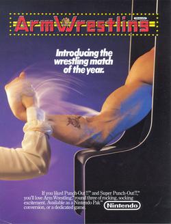 Arm Wrestling flyer