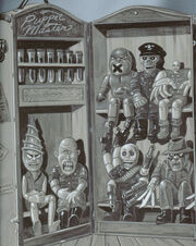 Puppet Master Orginal Artwork 1