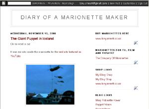 Diary of marionette maker