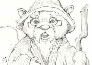 Walnut Drawing