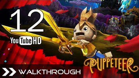 Puppeteer Walkthrough - Gameplay Part 12 (High Noon - Act 4 Curtain 3 - Bull Boss) HD 1080p PS3 No Commentary
