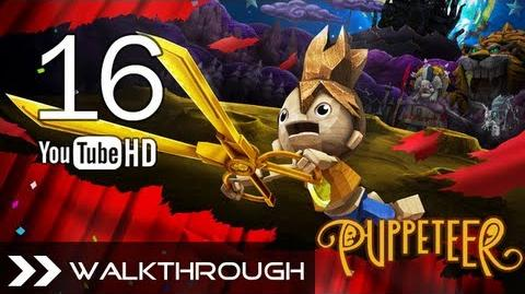 Puppeteer Walkthrough - Gameplay Part 16 (Time's a-Ticking - Act 6 Curtain 1 - Rabbit Boss) HD 1080p PS3 No Commentary