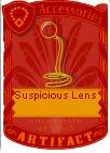 Suspicous lens