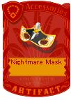 Nightmare Mask Gold