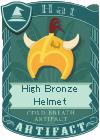 High Bronze Helmet 1