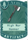 High War Hammer