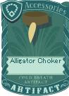 Alligator choker