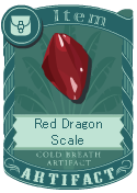 Red Dragon Scale