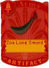 Zoa Long Sword