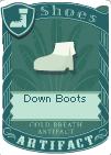 Down boots