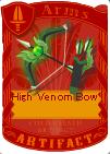 High venom bow