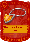 Thunder coat of arms