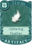Glittering Feather