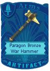 Paragon Bronze War Hammer