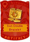 Sun double bracelet