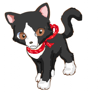 File:Eve wearing her favourite Christmas bow collar.png