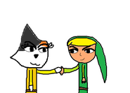 Toon Light and Toon Link