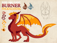 Pure light burner phoenixwing by dragonoficeandfire-d9ldtf4