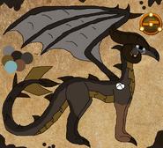 Plquekka brownclaw by fantiafantasystories-d8zr40t