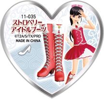 Strawberry Idol Boots