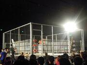 Steel cage deathmatch with 200 fluorescent light tubes - Ryuji Ito vs. Yuko Miyamoto - Big Japan Pro Wrestling - May 4, 2010