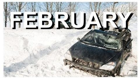 Winter Car Crash Compilation FEBRUARY Review - NEW by CCC )