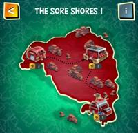 THE SORE SHORES I map