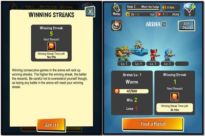 Winning streaks