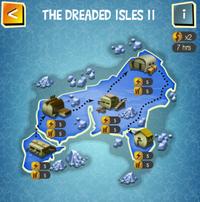 THE DREADED ISLES II map