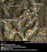 Chaos planes Map