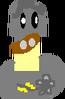 Plantlanders Robo-shroom figure