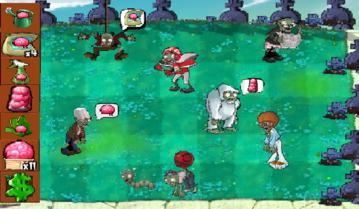 PvZ Zombie Graveyard