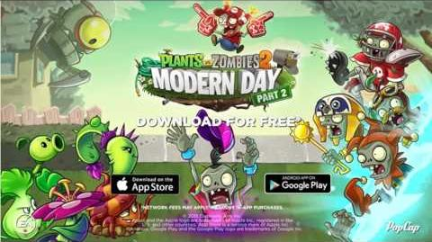 Plants Vs. Zombies 2 Modern Day Select your seeds