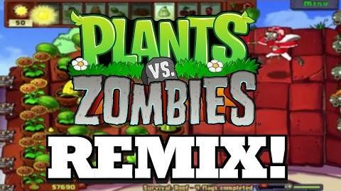 Plants vs Zombies! Graze the Roof REMIX!