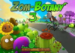 ZomBotany 3 Loading Screen