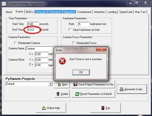 PIA Field Error Message